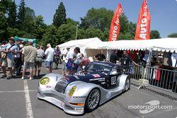 #80 Morgan Works Race Team Morgan Aero8 in scrutineering lineup