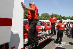 Barron Connor Racing go back to the track after scrutineering