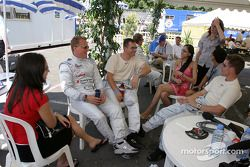 Johnny Herbert, Guy Smith and Pierre Kaffer