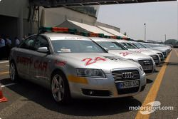 Audi A6 safety cars ready to go