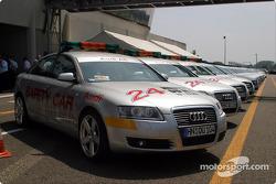 Les Audi A6 Safety Cars prêts à partir