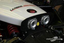 Ferrari 550 air intakes