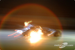 Photo artistique de la Morgan Aero8 n°80 du Morgan Works Race Team (Adam Sharpe, Steve Hyde, Neil Cunningham)