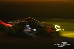 Photo artistique de la Corvette C5-R n°64 du Corvette Racing (Olivier Gavin, Oliver Beretta, Jan Magnussen)