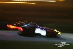 Photo artistique de la Ferrari 550 Maranello n°65 du Prodrive Racing (Colin McRae, Rickard Rydell, Darren Turner)