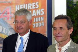 Jacky Ickx et Jean-Claude Passart