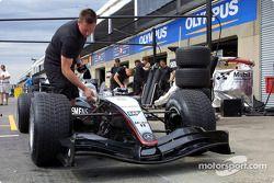 Zona de pits de McLaren