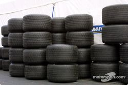 Michelin paddock area