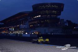 La direction de course du Mans, de nuit