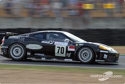 La Ferrari 360 Modena n°70 du JMB Racing (Jaime Melo Jr., Jean-René de Fournoux, Stéphane Daoudi)