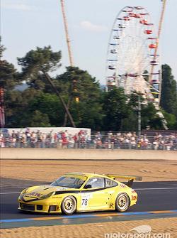 La Porsche 911 GT3 RS n°78 de PK Sport (David Warnock, Jim Matthews, Paul Daniels)