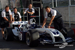 Williams va a inspección técnica
