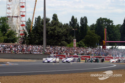 First race lap