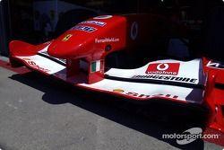 Ferrari 2004 nose cone