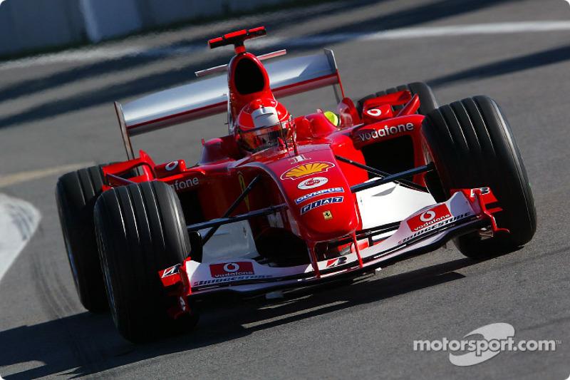 Michael Schumacher, Ferrari - 2004