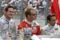 Présentation des pilotes : Gunnar Jeannette, Gavin Pickering, Renaud Derlot
