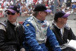Présentation des pilotes : Lawrence Tomlinson, Nigel Greensall, Gareth Evans