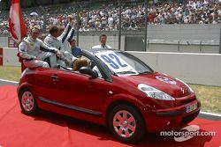 Drivers presentation: Rob Wilson, Franck Mountain, Hans Hugenholtz