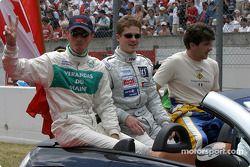 Drivers presentation: Jean-Bernard Bouvet, Tristan Gommendy, Bastien Brière