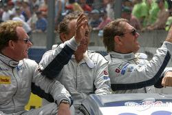 Présentation des pilotes : Rob Wilson, Franck Mountain, Hans Hugenholtz