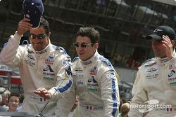 Présentation des pilotes : Luc Alphand, Christian Lavieille, Philippe Almeras