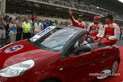 Drivers presentation: Thomas Biagi, Danny Sullivan, John Bosch