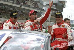 Drivers presentation: John Bosch, Thomas Biagi, Danny Sullivan