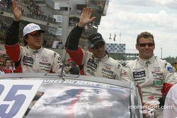 Drivers presentation: Seiji Ara, Rinaldo Capello, Tom Kristensen