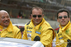 Présentation des pilotes : Yojiro Terada, Patrice Roussel, Olivier Porta