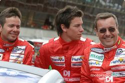 Présentation des pilotes : Mike Newton, Thomas Erdos, Nathan Kinch