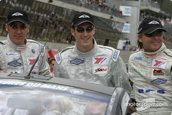 Drivers presentation: Adam Sharpe, Steve Hyde, Neil Cunningham