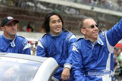 Drivers presentation: David Brabham, Hayanari Shimoda, Andy Wallace