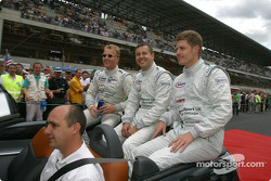 Présentation des pilotes : Johnny Herbert, Jamie Davies, Guy Smith