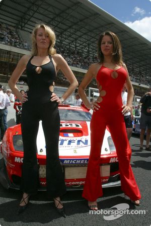 The Larbre Competition girls