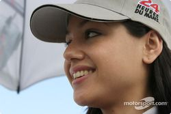 The stunning Audi Sport UK Team Veloqx girl