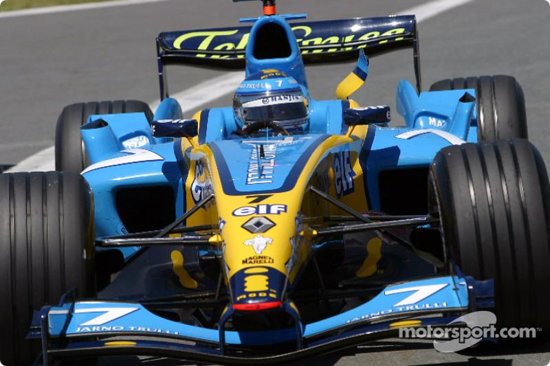 4 - Jarno Trulli, Renault - 2004