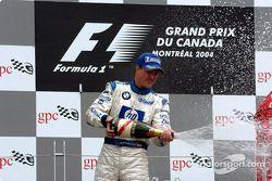 Podio: segundo lugar Ralf Schumacher