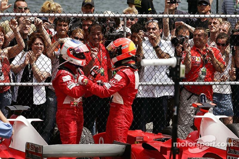 Michael Schumacher venceu pela Ferrari em Montreal naquele ano mais uma vez no circuito Gilles Villeneuve