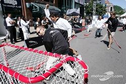 Evento de hockey HSBC: Mark Webber