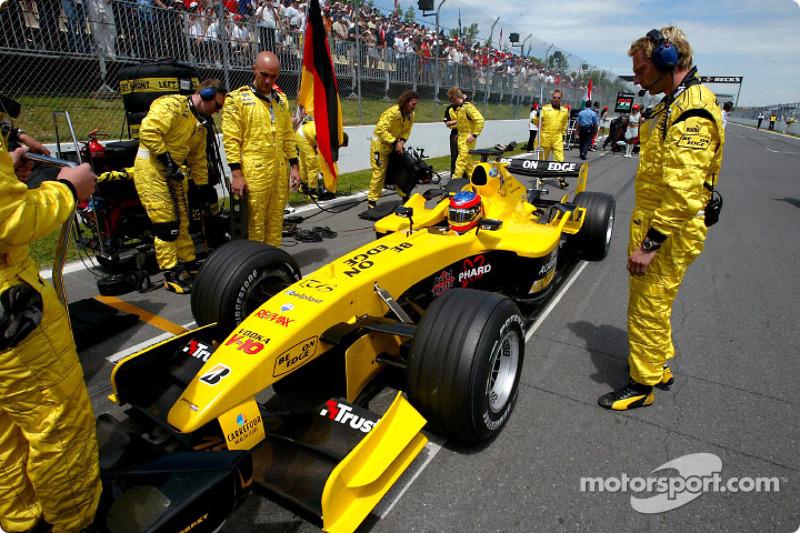 Timo Glock, GP Canadá 2004, Jordan