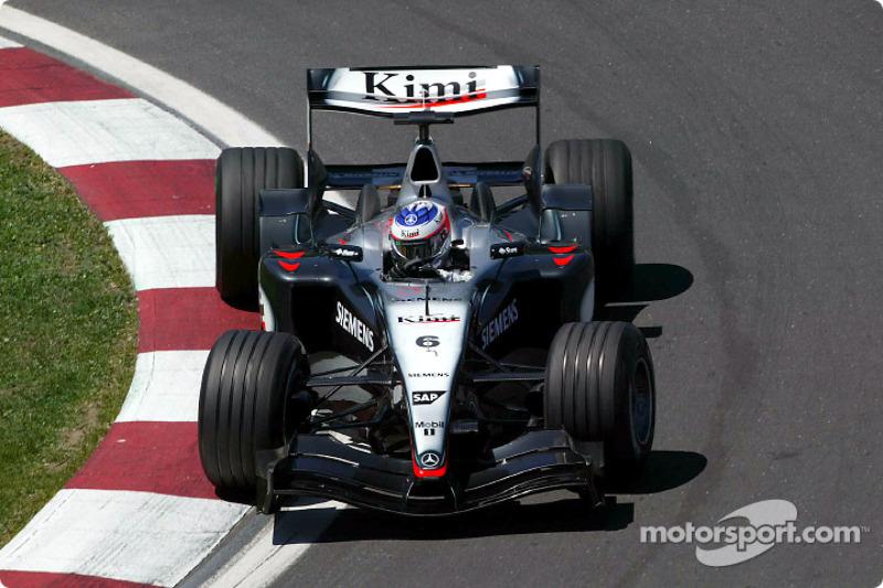 Kimi Räikkönen, McLaren-Mercedes MP4/19