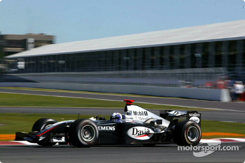 David Coulthard, McLaren MP4/19 (2004)