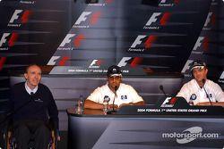 Conférence de presse du jeudi : Frank Williams, Juan Pablo Montoya et Ralf Schumacher