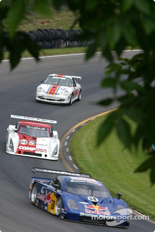 La Porsche Fabcar n°58 du Brumos Racing (David Donohue, Darren Law, Sascha Maassen)