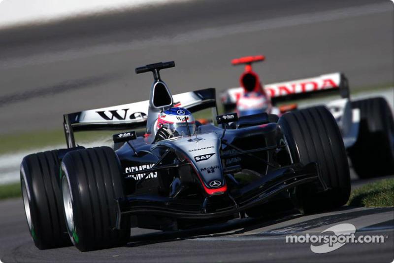 2004 : Kimi Räikkönen, McLaren MP4-19