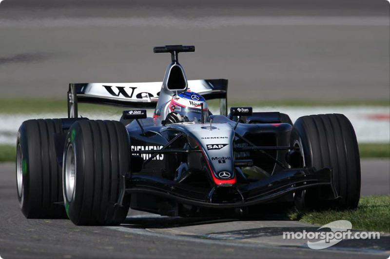 マクラーレンMP4-19・メルセデス(キミ・ライコネン/2004年アメリカGP)