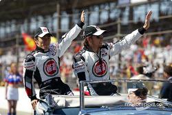 Présentation des pilotes : Takuma Sato et Jenson Button