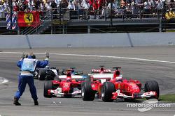 Premier tour : Rubens Barrichello