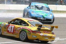 #47 Michael Baughman Racing Porsche GT3 Cup: Bob Ward, Michael Baughman, and #41 Orison-Planet Earth