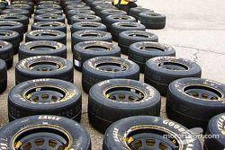 Un océan de pneus